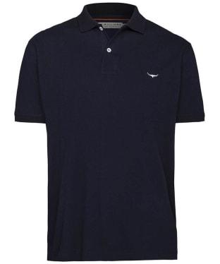 Men's R.M. Williams Classic Rod Polo Shirt - Navy