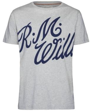 Men's R.M. Williams Tama T-shirt - Grey