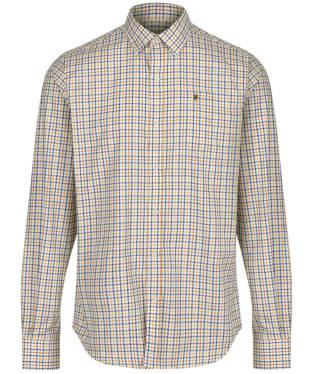 Men's Dubarry Ballincollig Long Sleeve Shirt - Gold Multi