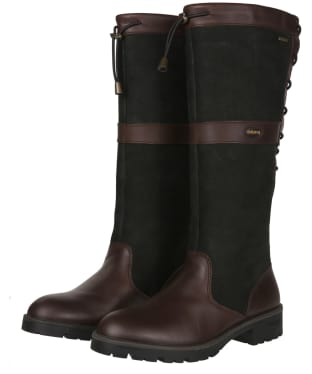 Women's Dubarry Glanmire Boots - Black / Brown