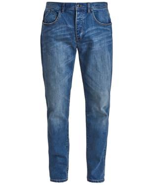 Men's Barbour International Stretch Slim Jeans - Mid Wash