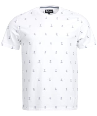 Men's Barbour Bradstone Tee - White
