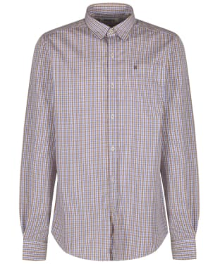 Men's Dubarry Ballincollig Long Sleeve Shirt - Brown Multi Patchwork