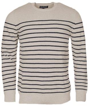 Men's Barbour Current Stripe Crew Sweater