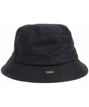 Women's Barbour Dovecote Bucket Hat - Black
