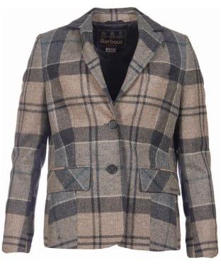 Women's Barbour Linton Tailored Jacket - Emerald Winter Tartan