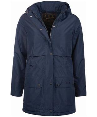 Women's Barbour Stratus Waterproof Jacket - Dark Navy