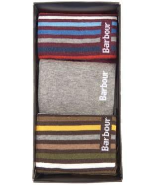 Men's Barbour Heywood Gift Box - Multi - Grey