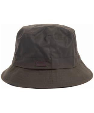 Men's Barbour Devon Sports Hat - Olive