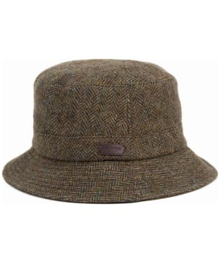 Men's Barbour Romeldale Sport Hat - Olive Herringbone