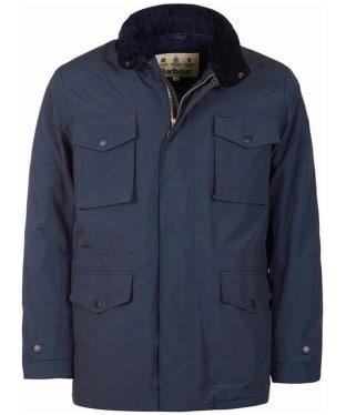 Men's Barbour Jersey Waterproof Jacket - Navy