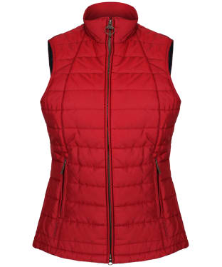 Women's Barbour Dovecote Gilet - Red