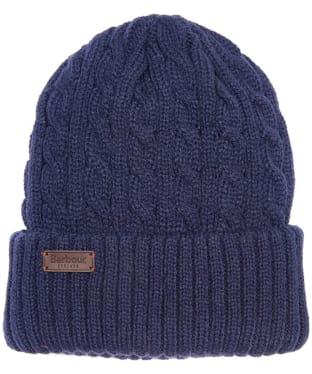 Men's Barbour Balfron Knit Beanie - Navy