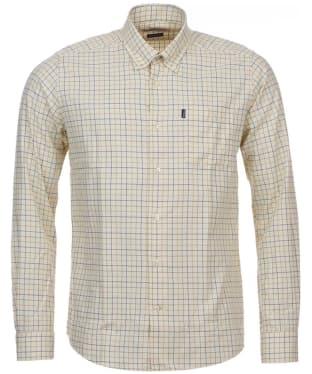 Men's Barbour Dillon Tailored Shirt - Gold Check