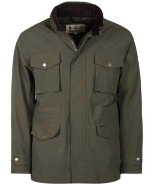 Men's Barbour Jersey Waterproof Jacket - Olive