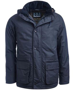 Men's Barbour Woodfold Waterproof Jacket - Navy
