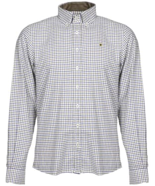 Men's Dubarry Broadhaven Tattersall Shirt - Olive Multi Patchwork