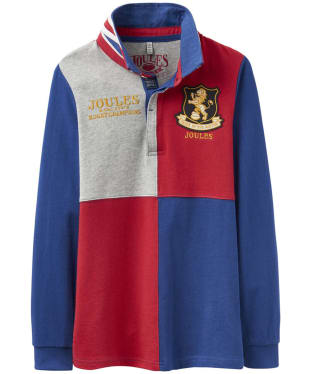 Boy's Joules Junior Try Rugby Shirt, 7-12yrs