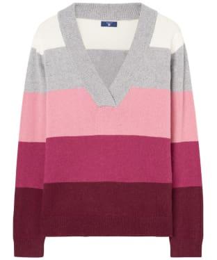 Women's GANT Multicoloured Striped Sweater