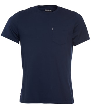 Men's Barbour Essential Pocket Tee - Navy