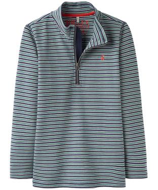 Boy's Joules Infant Dale Half Zip Sweatshirt, 6yrs