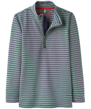 Boy's Joules Junior Dale Half Zip Sweatshirt, 7-12yrs