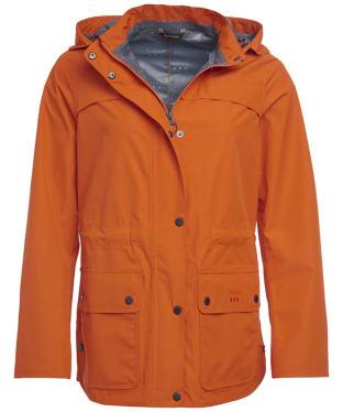 Women's Barbour Barometer Waterproof Jacket - Signal Orange