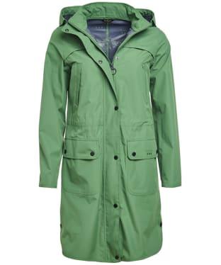 Women's Barbour Pressure Waterproof Jacket - Clover