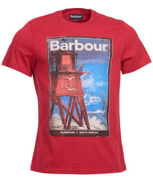 Men's Barbour Historic Tee - Chilli Red