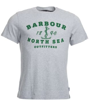 Men's Barbour Mizen Tee - Grey Marl