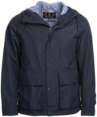 Men's Barbour Twine Waterproof Jacket - Navy