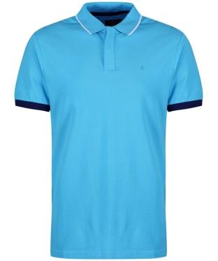 Men's Hackett Contrast Cuff Polo Shirt