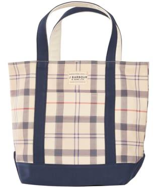 Women's Barbour Kirkaldy Tote Bag - Summer Tartan