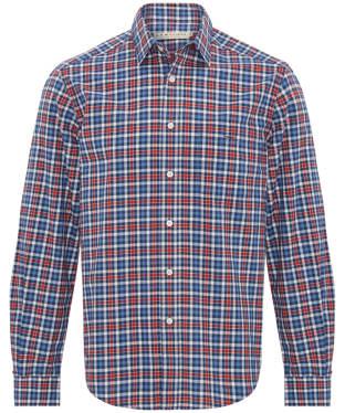 Men's R.M. Williams Collins Standard Collar Shirt - Red Navy