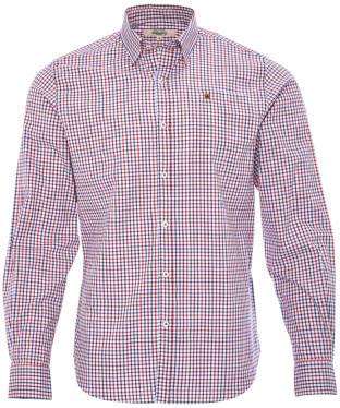 Men's Dubarry Ballincollig Long Sleeve Shirt - Saffron Multi
