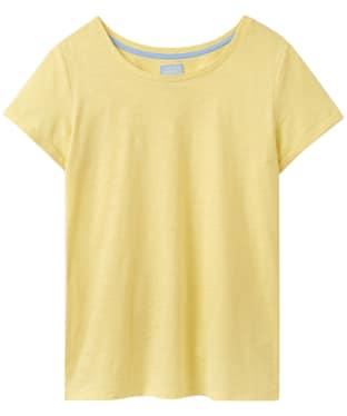 Women's Joules Nessa Jersey T-Shirt - Lemon