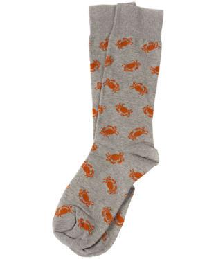 Men's Barbour Crab Socks - Grey