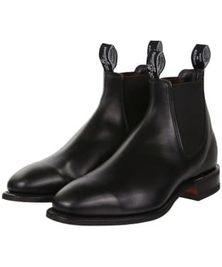 Men's R.M. Williams Comfort Craftsman Boots - H Fit - Black