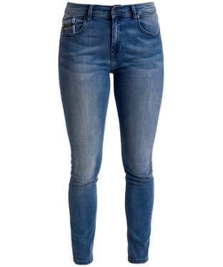 Women's Barbour International Scrambler Skinny Jeans - 70s Blue