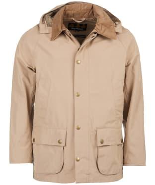 Men's Barbour Ashby Midas Waterproof Jacket - Military Brown