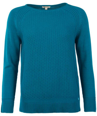 Women's Barbour Bridport Knitted Sweater - Sea Glass
