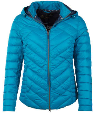 Women's Barbour Pentle Quilted Jacket - Sea Glass