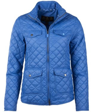 Women's Barbour Formby Quilted Jacket - Shore Blue