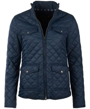 Women's Barbour Formby Quilted Jacket - Navy