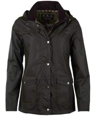 Women's Barbour Watergate Wax Jacket - Fern