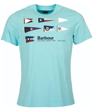 Men's Barbour Pennant Tee - Aquamarine