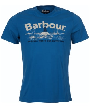 Men's Barbour Waterline Tee - Sea Blue