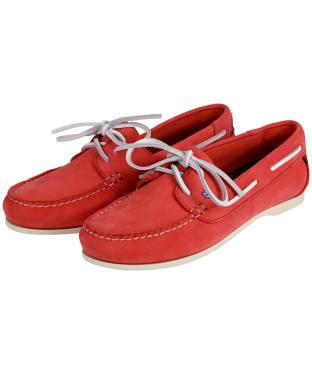 Women's Dubarry Aruba Deck Shoes - Coral