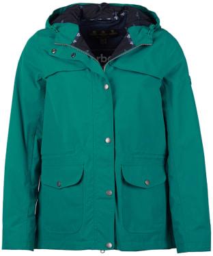Women's Barbour Lunan Waterproof Jacket - Sea Glass