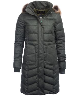 Women's Barbour Foreland Quilted Jacket - Kelp